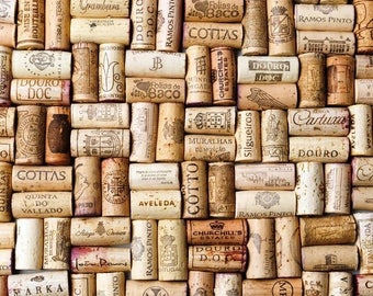 100 Wine Corks, Winery Wine Cork, Wine Corks with Logos, Bulk Wine Corks, Used wine corks. Recycled Wine Corks, Up-cycled Used Wine Corks