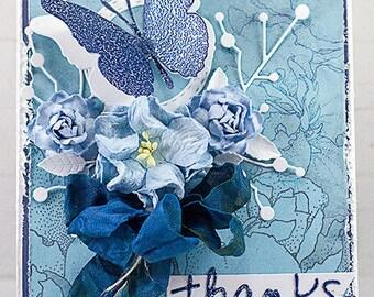 Shabby Chic Thanks Card