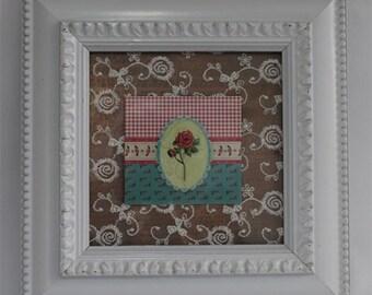 Shabby chic picture frames - Bright White Wedding, Shabby Chic photo frame  Ornate, Photo, Home, Nursery