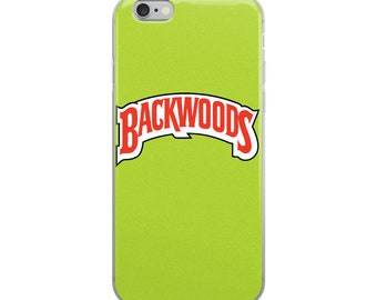 Backwoods Green iPhone Case
