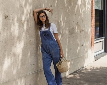 French work wear overalls vintage