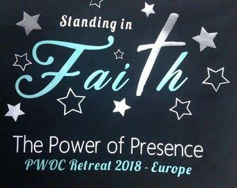 PWOC Ladies Retreat 2018- Europe shirt