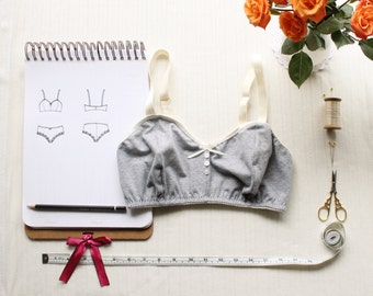 Bra Sewing Pattern Ohhh Lulu 1304 Jasmine Soft Bra Multi-size Digital PDF