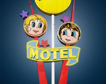 Lollipop Motel Postcard