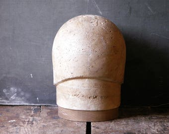 Vintage Cloche Style Hat Block - Millinery Tool