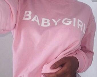 BabyGirl Crewneck Sweater