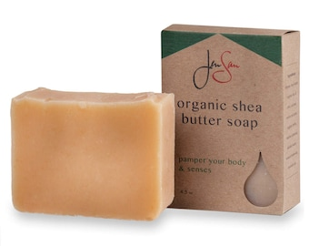 Soap for Men - Citrus Pine Men's Natural Bar Soap - Organic