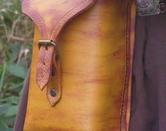 Brown Wood Elf, Ranger, Warden Side Pouch, Larp, Role Play
