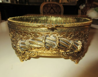 FRENCH GOLD JEWELRY Box