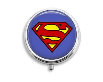 Superhero Pill Box, Batman Pill Case, Wonder Woman Pill Container, Superman Mints Container, Trinkets Box, 12 Different Designs To Choose