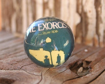 Acrylic Bubble Ring, THE EXORCIST  Movie scene by Smash Gardens on Etsy, Bridesmaids Gifts, Classic Horror Movie, Classic Movie Memorabilia