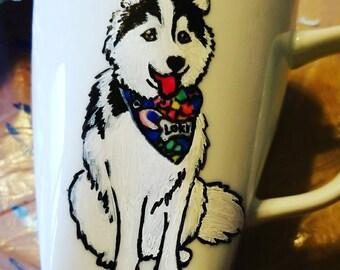 My Mischievous Loki custom mug for Celeste