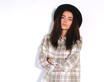 flanel blouse, seventies shirt