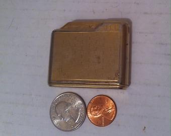 Vintage Metal Lighter, Gold, Cowbri, Made in Germany, Old Vintage Lighter, Cigars, Cigarettes, More