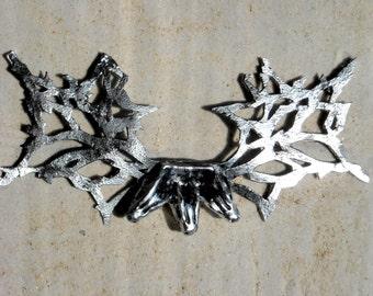 Game Of Thrones Inspired Daenerys Targaryen 3 headed Dragon chest piece necklace sculpture (craftfoam)