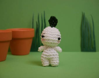 Keychain / Micro plush amigurumi young growth
