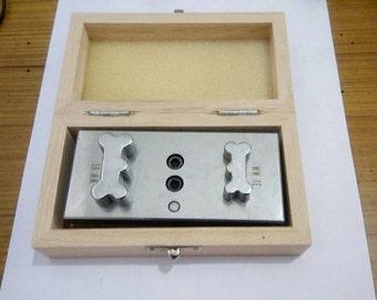 Bone Shape DIsc cutter jumbo set of 2, Free Shipping