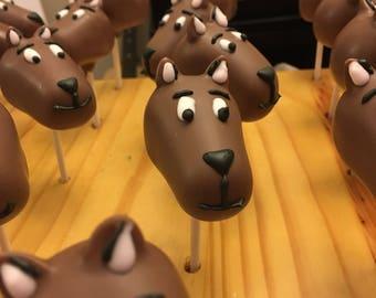 Scooby Doo Cake Pops