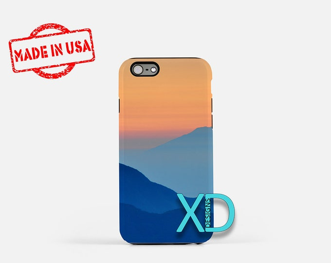 Mountain iPhone Case,  Silhouette iPhone Case, Nature iPhone 8 Case, Sunset, iPhone 6s Case, iPhone 7 Case, Phone Case, Safe Case, SE Case