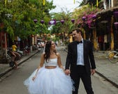 Wedding Tulle Skirt Brida...