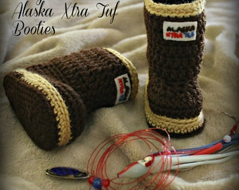 ALASKA XTRA TUF Booties (Unisex/Boys: 5 Infant Szs)