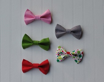 10 PARTY FAVOR BOWTIES for Birthday Party-Bow ties-Birthday Party Favor-Bow ties for boys/girls-Photo Prop-Wedding
