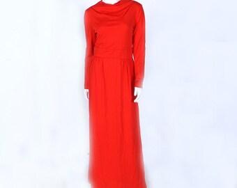 Vintage Eve Le Coq Red Dress