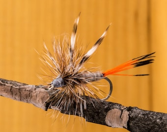 Adams Fly || Hand-tied || Dry Fly for Fly Fishing  Pack of Two