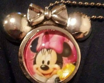 Minnie Mouse Clubhouse. necklace