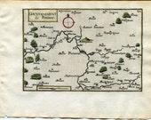 1634 Nicolas Tassin Map P...