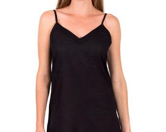 Black Slip   AMI   Spirituelle   Cotton   Straight Cut   XS - 3XL