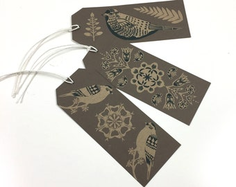 Eudaimonia Bird Gift Tags