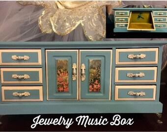 Music Jewelry Box Makeover