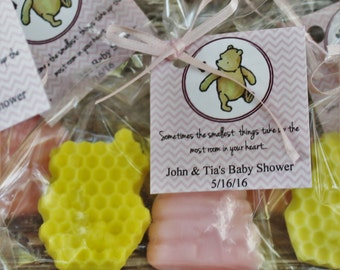Beehive and Honeycomb Winnie the Pooh Soap Party Favors:  Birthday Favors, Wedding Favors, Baby Shower Favors, Baby Sprinkle