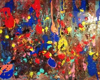 Universe spaces splash