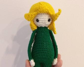 Baby Narcissus /Crochet toy/Amigurumi /Stuffed animal /Flower toy/Cute gift/crochet animal /13 cm Active