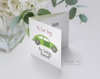 Love Bugs - Trifold Invitations (Style 13685)