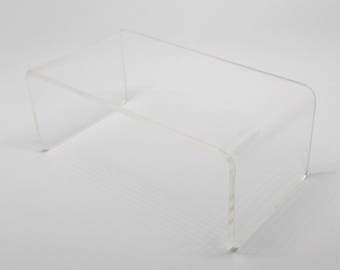 Modern Clear Coffee table (scale 1:12)
