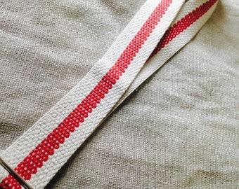 Adjustable Ukulele Neck Strap - Soft Cotton - Cool Look - Uke Strap