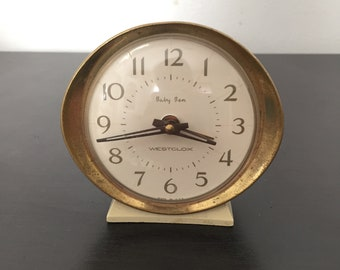 1960s Westclox Baby Ben Clock Style 8 Made In USA