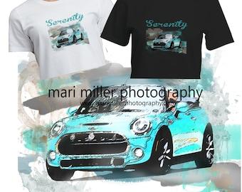 "Caribbean Aqua ""Custom"" MUM collection.... t-shirt"