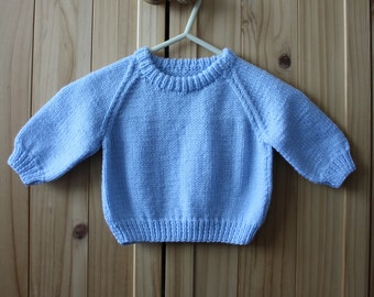 Hand Knitted Baby Sweater