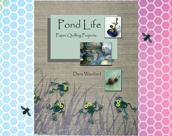 Quilling Pattern Book - Pond Life