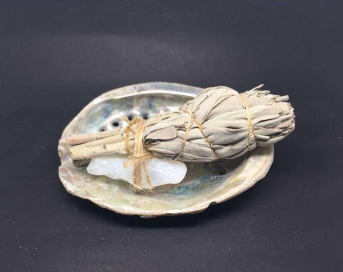 Smudge Kit California White Sage & Opal - WSO01