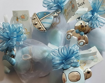 Baby boy favours hanging decorations