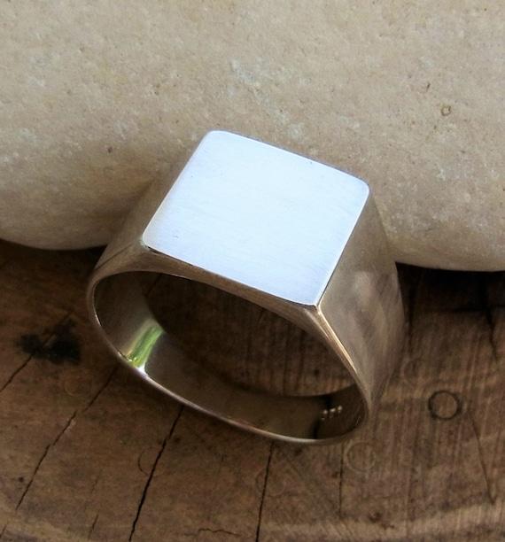 Custom Made Mens Pinky Rings