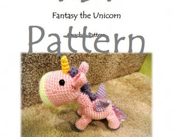 RunRunRun Series - Fantasy the Unicorn (PDF Pattern)