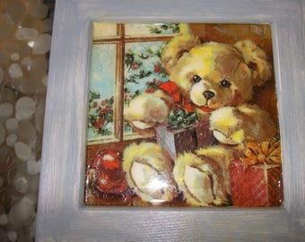 Bear frame for child