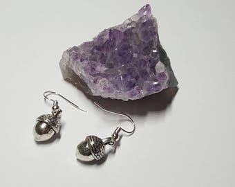 Acorn, Nature Earrings, Acorn Jewelry, Acorn Earrings, Fall Earrings, Dangle Earrings, Acorn Jewellery, Acorn Gift,Woodland Earrings, Gift