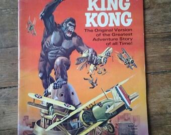 Giant Classic King Kong; Vol 1, 1, Silver Age Treasury Comic Book. VF- (7.5).  1968.  Gold Key Comics (Whitman Treasury Edition Variant).